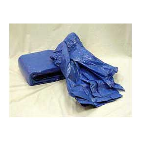 Blue Reinforced Poly Tarp