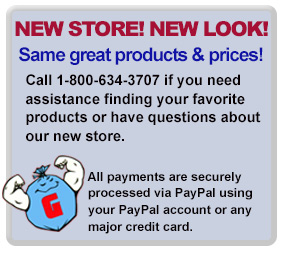 Garb-o-Liner Store has same great products and prices