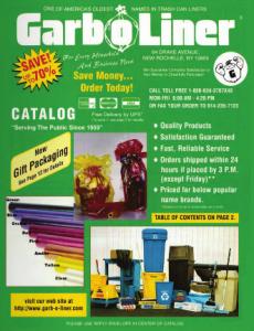 Garb-o-Liner catalog